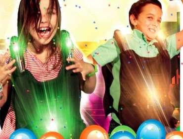ANNIVERSAIRE ENFANTS LASER GAME CHAMBLY